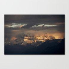 Les Dents du Midi Canvas Print