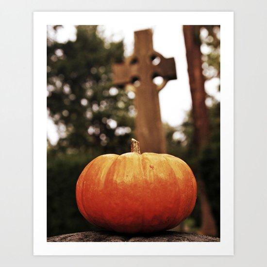 October spirit Art Print
