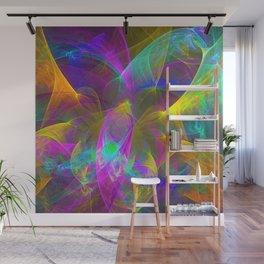 Colors In Depth Wall Mural