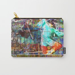 The M. Clark School Of Appropriating Stuff School [A Brand New Experiment Series] Carry-All Pouch