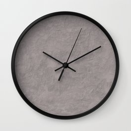 Blank Space Wall Clock