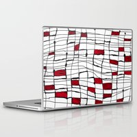 text Laptop & iPad Skins featuring text by Ivano Nazeri