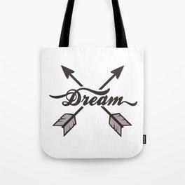 dream arrows Tote Bag