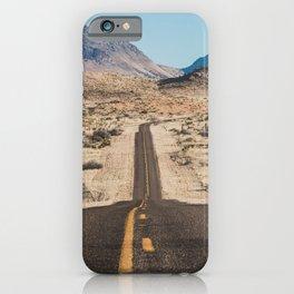 High Desert Highway iPhone Case
