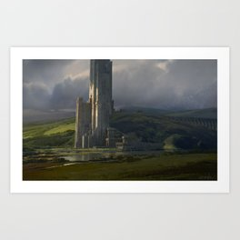 The Great Tower Art Print