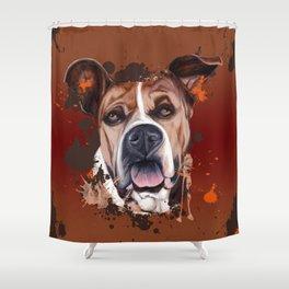 Boerboel Shower Curtain