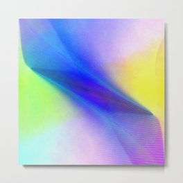 Multicolored abstract 2016 / 004  Metal Print