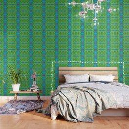 Art Nouveau Cactus Wallpaper