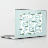 wonderland Laptop & iPad Skins featuring Wonderland by Nick Volkert