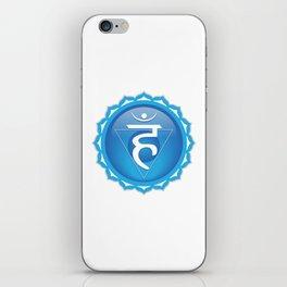 Throat Chakra Symbol iPhone Skin