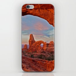 Arches National Park - Turret Arch iPhone Skin