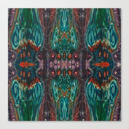 Pulse of Kelp (Sonic Sea Surge) Canvas Print
