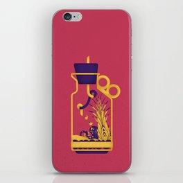 "poster : bottle 1 ""biberon de sel"" iPhone Skin"