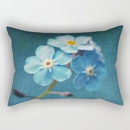 I'm Blue For You Rectangular Pillow