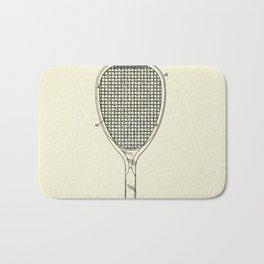 Tennis Racket-1887 Bath Mat