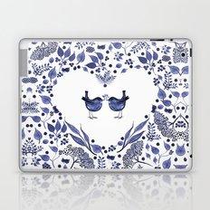 THE GIFT - INDIGO Laptop & iPad Skin