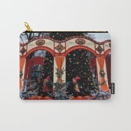 Digital Illustration of a Christmas Tree in the Park in Copenhagen, Denmark Carry-All Pouch