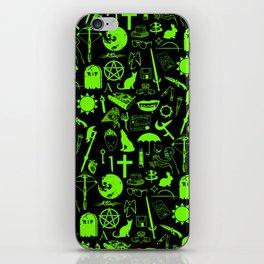 Buffy Symbology, Green iPhone Skin