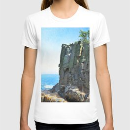 Michael Peter Ancher - The Sanctuary Cliffs at Ro - Digital Remastered Edition T-shirt