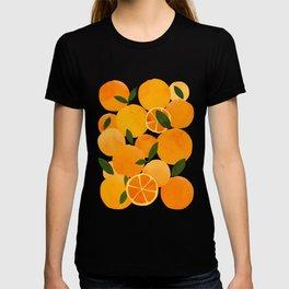 mediterranean oranges still life  T-shirt