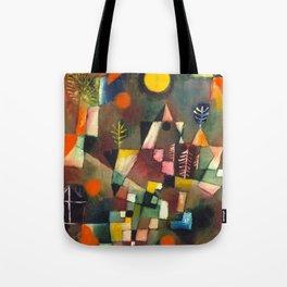 "Paul Klee ""Der Vollmond Hoch (The Full Moon)"" (1919) Tote Bag"