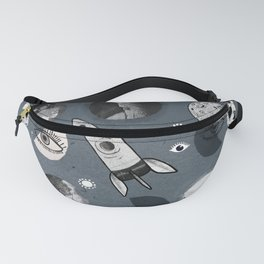 Space. Fanny Pack