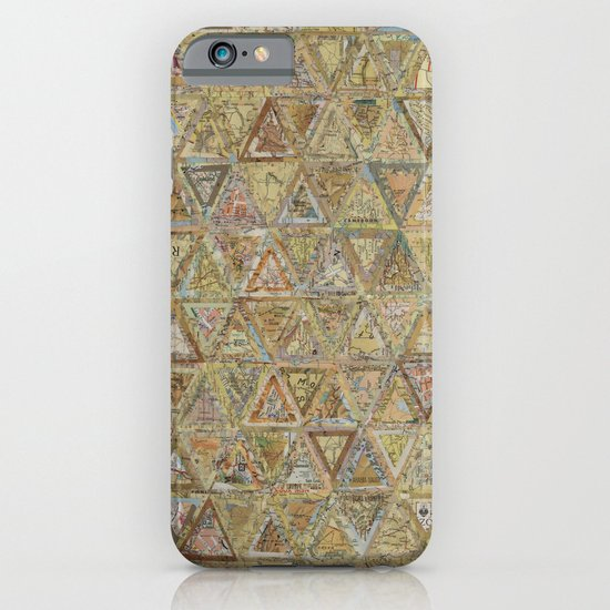 Brown Triangles iPhone & iPod Case