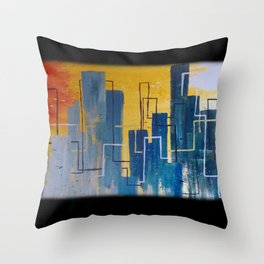 Urban Impressions Throw Pillow
