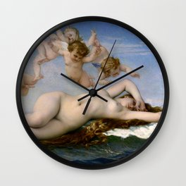 "Alexandre Cabanel ""The Birth of Venus"" (1863) Wall Clock"