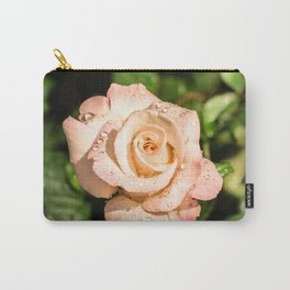 The light pink rose Carry-All Pouch