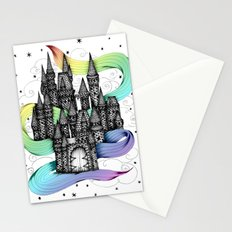 Super Magic Rainbow Dream Castle Stationery Cards