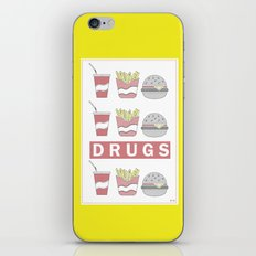 DRUGS iPhone & iPod Skin