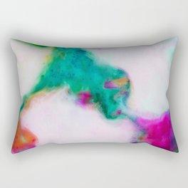 like a marble Rectangular Pillow