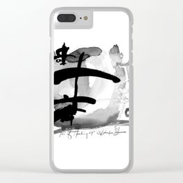 Tao Of Healing No. 29I by Kathy Morton Stanion Clear iPhone Case