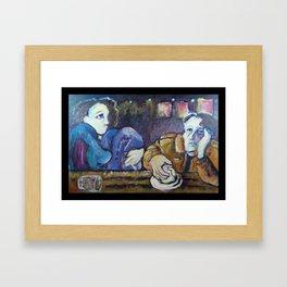 """""""A Conversation"""" Framed Art Print"""