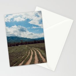 The fields of Tennessee Stationery Cards