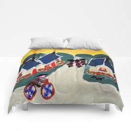 """""""Au Revoir"""" Comforters"""