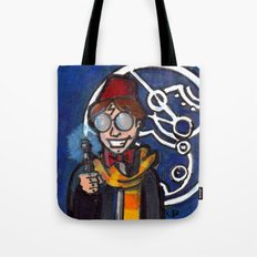 Doctor Harry Who Tote Bag