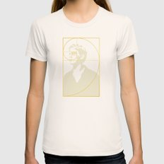 Stay Gold, Ponyboy Womens Fitted Tee Natural LARGE