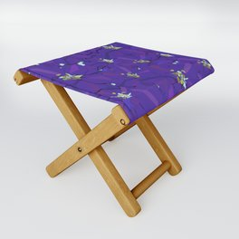 Larkspur Love Folding Stool