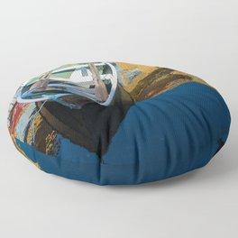 Scandinavian Row Boat Floor Pillow