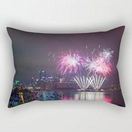 Fireworks Over Pittsburgh Rectangular Pillow