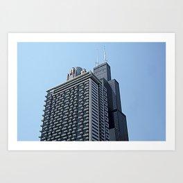 The City of Broad Shoulders Art Print
