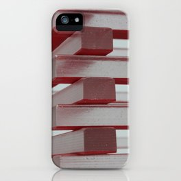 Industrial jenga iPhone Case