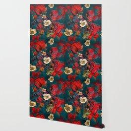 Flowers pattern Wallpaper