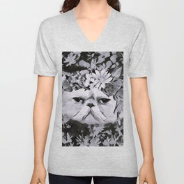 Lord Aries Cat - Art 003B Unisex V-Neck