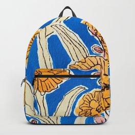 Marigold Floral Backpack