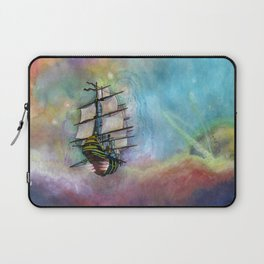 Mike's Tall Ship Laptop Sleeve