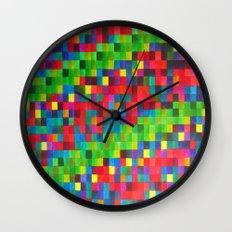 Leaf me not Wall Clock