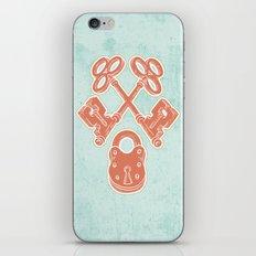 Keys and Lock iPhone & iPod Skin